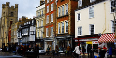 On an Oxford  Street