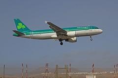 EI-DVJ A320 Aer Lingus arrecife 07-03-2020