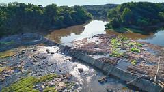 Lockville Dam, Moncure NC, 06-07-2020