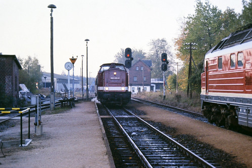 Zugkreuzung in Voigtsgrün