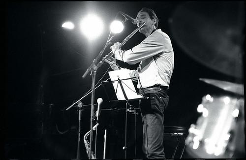 Ben Sluijs à la flûte