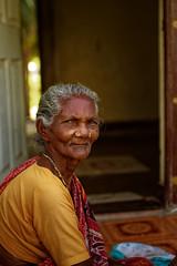 Portrait of Old woman, Tamilnadu, South India