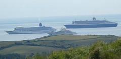 Ships in Weymouth Bay