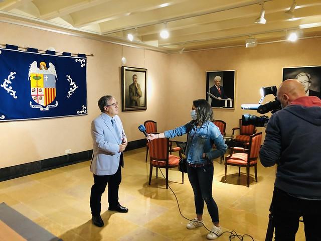Entrevista con TVE