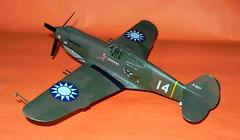 Monogram 1/48 scale AVG Curtiss P-40B.