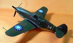 Monogram 1/48 American Volunteer Group (AVG) Curtiss P-40B.