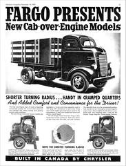 1940 Fargo C.O.E. Stake Truck