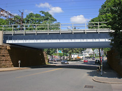 Metro-North Railroad to begin construction to replace two New Haven Line train bridge spans in Port Chester.