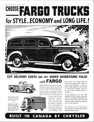 1939 Fargo Panel Delivery Truck