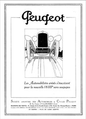 1923 Peugeot 18 HP