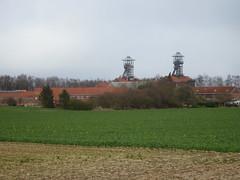 Centre Historique Minier de Lewarde, vu de Erchin
