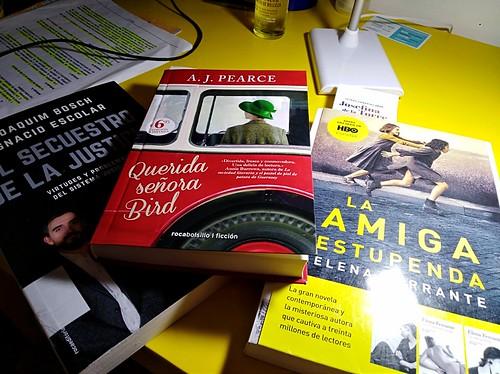 Lecturas de Mayo;La Amiga Estupenda,Querida señora Bird,El Secuestro de la Justicia,leer