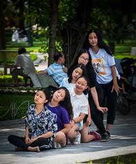 Practise in the Park, Hanoi