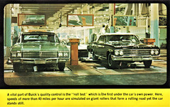 1966 Buick Assembly Line Roll Test