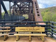 Bench donation by Keystone Viaduct