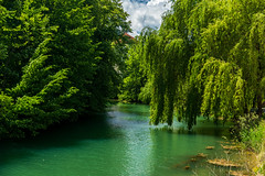 Spring on river Lahinja