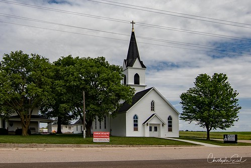 Zion Lutheran - west of Clatonia