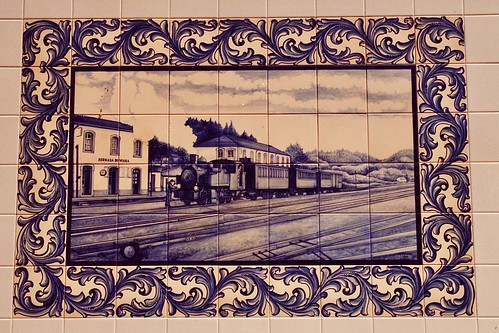 Estação de Sernada do Vouga, Portugal