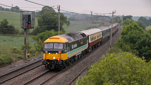Eastleigh United Kingdom Picture : 47712 + 43083 | 5Z36 At Milton Crossing 11/06/20