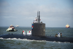 USS Albany (SSN 753) returns to Naval Station Norfolk.