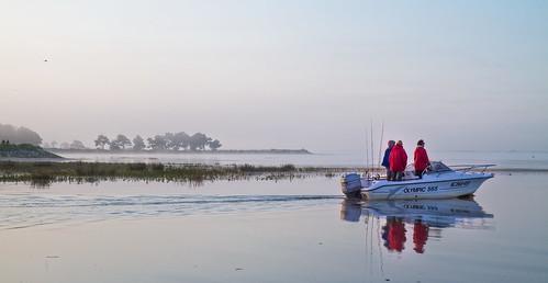 Départ pour la pêche