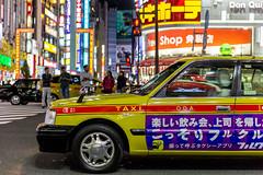 Tokyo Life - Taxi, Shinjuku