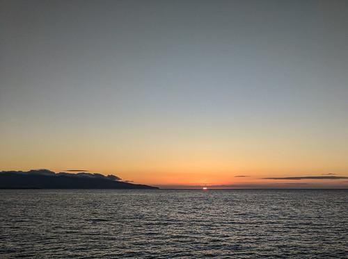 sunset ribeira grande