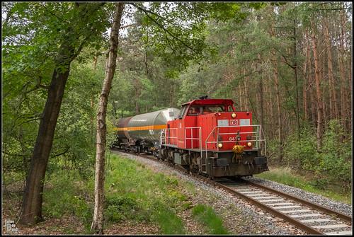 10-06-20 DB Cargo 6416 + KLK Kolb Aanvoer trein, Delden