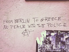 FROM BERLIN TO GREECE, NO PEACE WITH THE POLICE