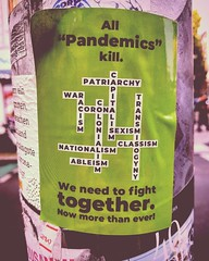 All pandemics kill. We need to fight together. Now more than ever!