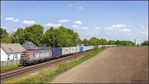 5 mei 2020 - PKP Cargo 193 514 - Udenhout