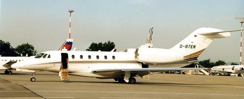 D-BTEN - Cessna 750 Citation X  BSL 291000