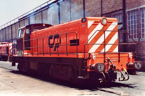 Diesel locomotive CP 1223