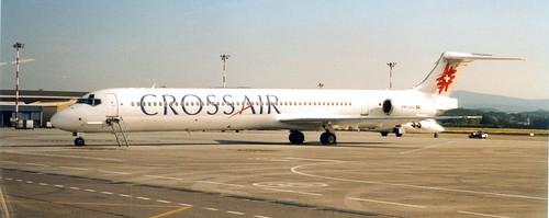 HB-IUG | McDonnell Douglas MD-83 | Crossair BSL 291000