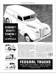 1940 Federal Standard Panel Delivery