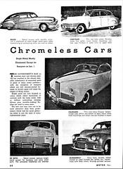1942 Chromeless Cars