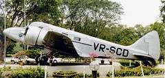 VR-SCD Airspeed AS.65 Consul Singapore Science Centre 161098