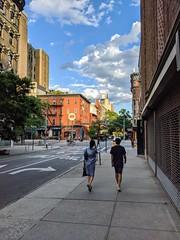 Walking on 12th Street