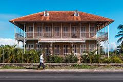 Maison coloniale Zevallos, Le Moule, Guadeloupe - (1/3)