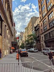 Blocked-Off 12th Street