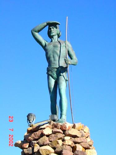 294 M Monumento al indio Teuelche 2