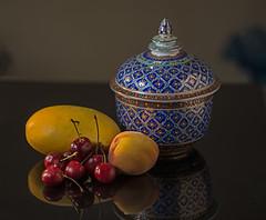 Cherries and Mango