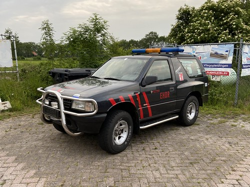 Opel Frontera 4x4, Brandweer Airstrip Drachten (NL)