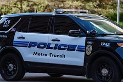 Metro Transit Police Squad Car