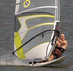 wind surfing -  Mill Creek Hampton Virginia