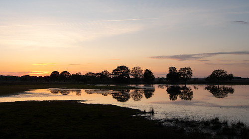 a quiet sunset