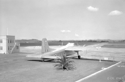 RNZAF Bristol Freighter NZ5902 at Whenuapai, date unknown