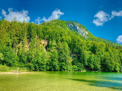 Lake Stimmersee in Tyrol, Austria