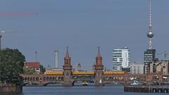 2018-08-12 DE Berlin-Friedrichshain-Kreuzberg, Spree, Oberbaumbrücke, Berliner Fernsehturm