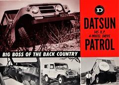 Datsun Patrol, 1962-1969